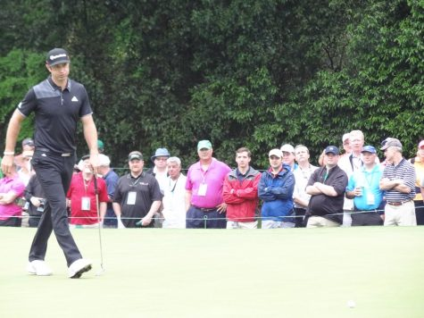 The Masters may be returning but no fans will be returning to the tournament. The atmosphere was different the whole weekend; there were still family members and members of the club still the cheers and roars were not the same.