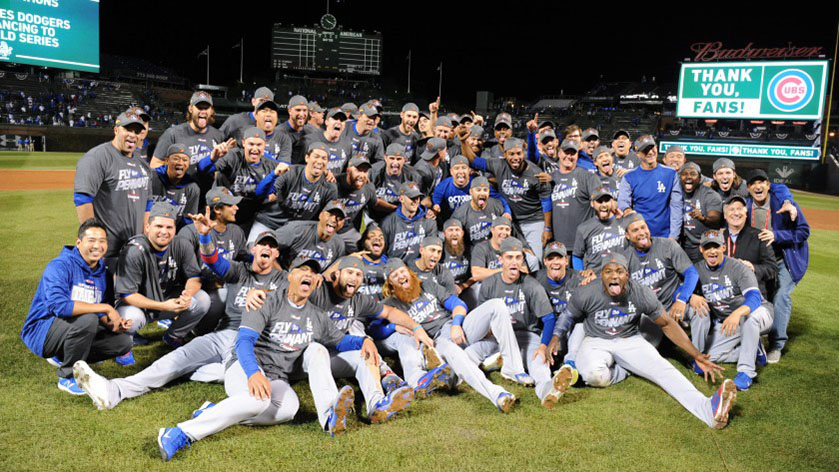 The Los Angeles Dodgers celebrate their 2020 World Series title after a 3-1 victory over the Tampa Bay Rays in Game 6. The Dodgers hadn't won a World Series in 32 years, following heartbreak versus the Houston Astros in the 2017 World Series and the Boston Red Sox in the 2018 World Series. The Dodgers finally broke their own spell, and a dynasty may be on the horizon.