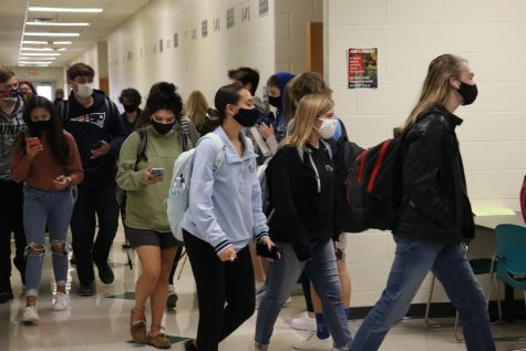 Students within Millard West follow the mask mandate, but there is a lot of room for students to ignore it. Enforcing this rule will ensure that students and teachers stay safe and protected from COVID-19.