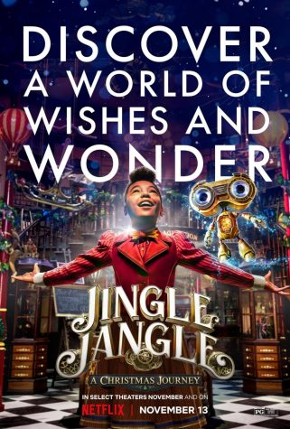"""Jingle Jangle: A Christmas Journey"" chronicles the tale of a down-on-his-luck toy maker. His estranged daughter and granddaughter inspire him to believe again."
