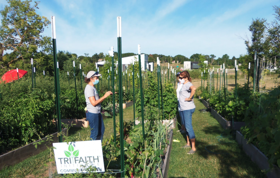 Tri-Faith Initiative is an organization in Omaha dedicated to religious diversity and fighting bigotry. For the holiday season, all their activities are remote; however, people can still participate in online workshops or other events scheduled on their website.