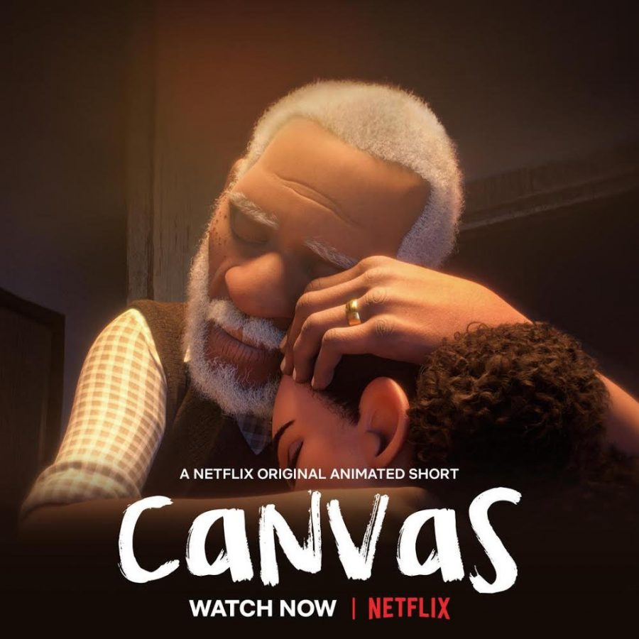 Canvas is directed by Frank E. Abney III. His experience in working for Disney, Pixar, and Dreamworks shines in this top tier animated short.