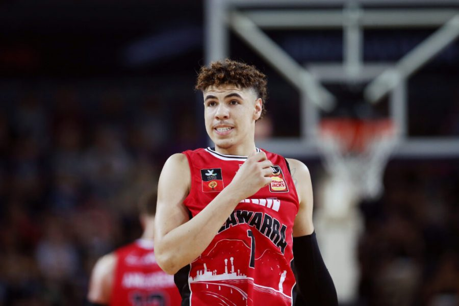 LaMelo Ball runs point guard for the Illwara Hawks of the NBL. Ball was touted as the top point guard prospect in the draft. Charlotte Hornets owner Michael Jordan is hoping this selection could help change the franchise and take them towards relevancy in the NBA.