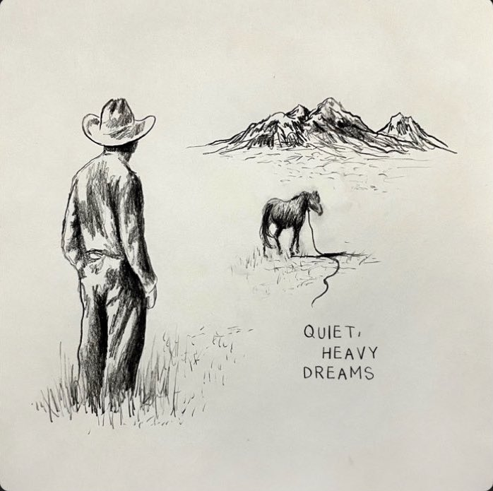 """Rising country artist Zach Bryan released a new EP on November 27, 2020. """"Quiet, Heavy Dreams"""" brings a new and fresh perspective to the country music scene."""