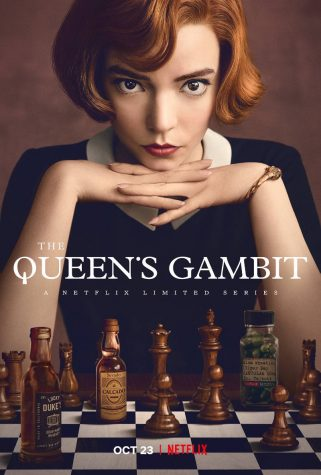 """The Queen's Gambit"" follows chess prodigy, Beth Harmon, on her journey to become the top chess player in the world while struggling with addiction. ****/5"