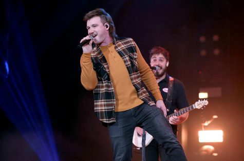 "Morgan Wallen performs onstage at the Ryman Auditorium on Jan. 12, 2021 in Nashville during his ""Dangerous"" album release show."