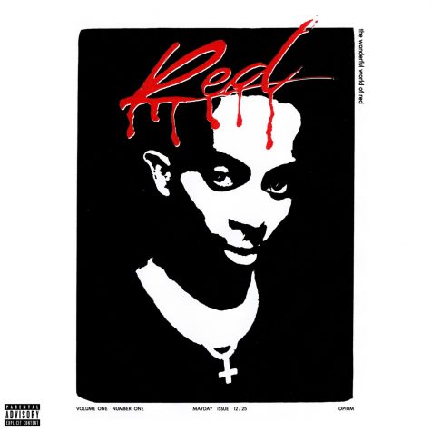 """The cover art for Playboi Carti's sophomore album """"Whole Lotta Red."""" The cover art is a tribute to an old punk magazine called """"Slash,"""" which perfectly explains the main feel of the first half of the tape. Despite bad fan reception at first, a lot of listeners have changed their opinion after re-istening to the album."""