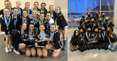 The varsity Dance team placed first in the Hip-Hop division and 3rd in Jazz. The varsity Dance team placed first in the Hip-Hop division and 3rd in Jazz.
