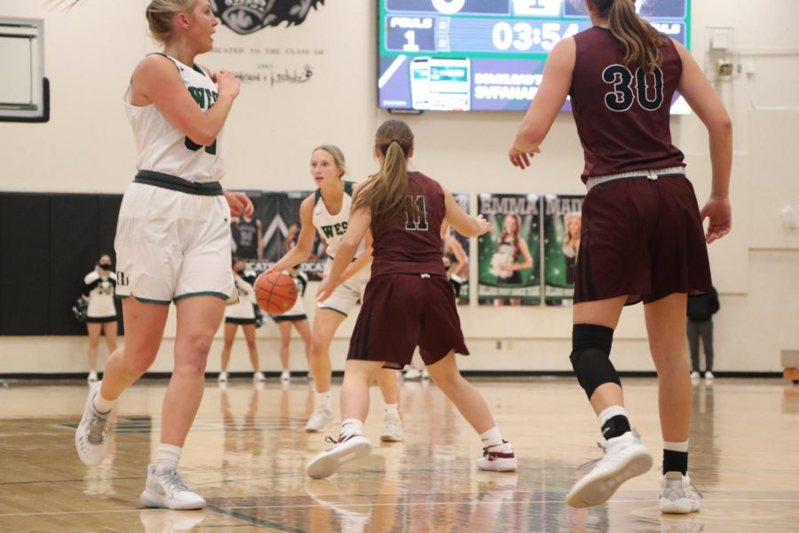 "The Wildcats have worked hard all season to improve their shots and grow closer as a team. They took advantage of some opportunities in this game and were able to trust each other to come out with a win. ""We did well on improving our shots and trusting our team,"" junior Emmy Holl said. ""The shots we put up gave us just enough to stay ahead throughout the game."""