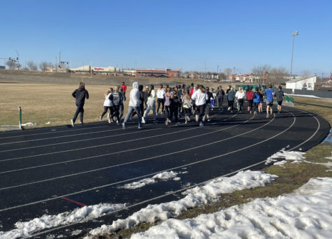 With various State qualifiers in the 2019 season, the track team hopes to improve their individual times and points to benefit the team as a whole.