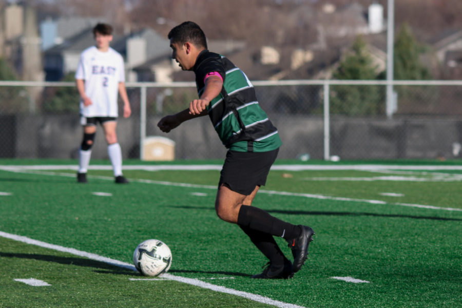 """Millard West maintained possession most of the game. Although the team was on top, there were still some things they could work on. """"We could have improved on finishing our shot chances, which would have given us four to five more goals,'' senior midfielder Nasser Nabulsi said. """"I think we played well, overall, for our first game and not knowing how solid we would be."""""""