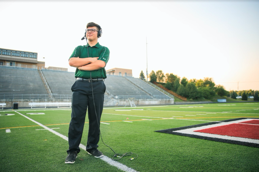 Looking ahead to college, senior Jon Willis leaves behind an extensive legacy of commentating at Millard West.