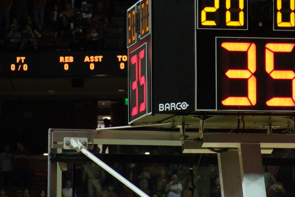 High school basketball could be a whole new experience for players and the crowd with a shot clock. It would force a faster paced game, allow schools to touch the ball more, and provide the opportunity to get up a greater amount of shots.