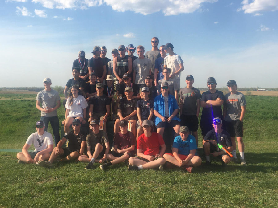 The Millard West Trap Shooting club attended State in Doniphan, Nebraska. The team and coaches were all very proud of their wins at state this year.