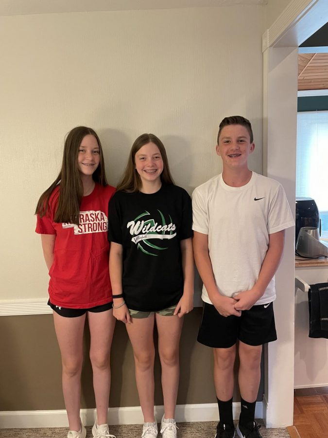 Growing+up+together+freshmen+Avery%2C+Abby+and+Michael+Jones+experienced+life+a+little+differently+than+most+students.+Going+through+school+together+for+their+whole+lives+the+Jones%E2%80%99s+had+an+easier+start+to+high+school+than+most%2C+since+they+got+placed+in+the+same+qt.+%E2%80%9CBeing+a+triplet+can+be+annoying+at+times+but+mostly+fun%2C%E2%80%9D+Avery+Jones+said.+%E2%80%9CI+like+that+I+always+have+someone+there+for+me.%E2%80%9D