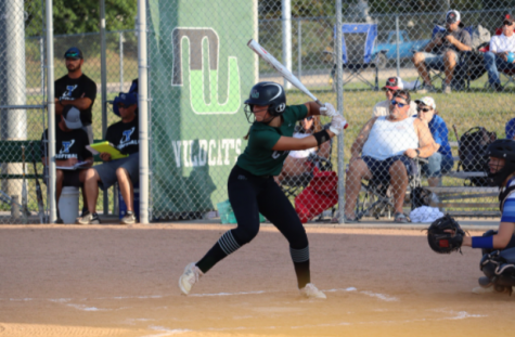 """Senior Ava Rongisch had a clutch two run single to tie up the game in the third inning. Although the Wildcats ended up losing this game, it taught them plenty of lessons they can use during the last few games of the season. """"These last few games we can work on playing through adversity and when things aren't going well, and how we respond,"""" Rongisch said. """"The game is all about failure, but it's what you do after that'll make you better."""""""