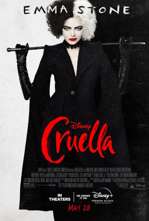 Cruella was released nationwide on May 28, 2021. The film stars Emma Stone and tells the origin of one of Disneys most notorious villains.