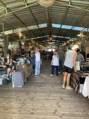 This open market brings in hundreds of people each year from their delicious food trucks to their unique shopping and its worth every penny.