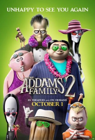 """On Oct. 1, 2021, The Addams Family is back on the big scream appearing in """"The Addams Family 2"""" to add to the list of spooky season movies to watch."""